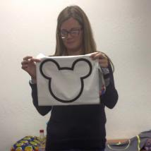 Amy shares her January Mighty Lucky Club sample. We think Mickey is perfect...but we may be a little bias(ed). ;)