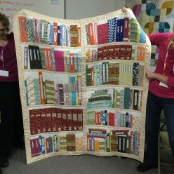 Show and Tell, May 2016%0A%0AFor all you bookworms! #quilt #quilting by siliconvalleymqg