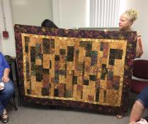 Tonight was our May meeting and we did bring your first quilt for our get to know you portion of the meeting tonight! It was fun to see how amazing our first quilts were! by siliconvalleymqg