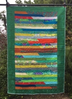 Pieced and Bound by Beverly Thompson, Quilted by Kathleen Crittenden